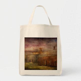 Farm - Barn - Shaker Barn Canvas Bag