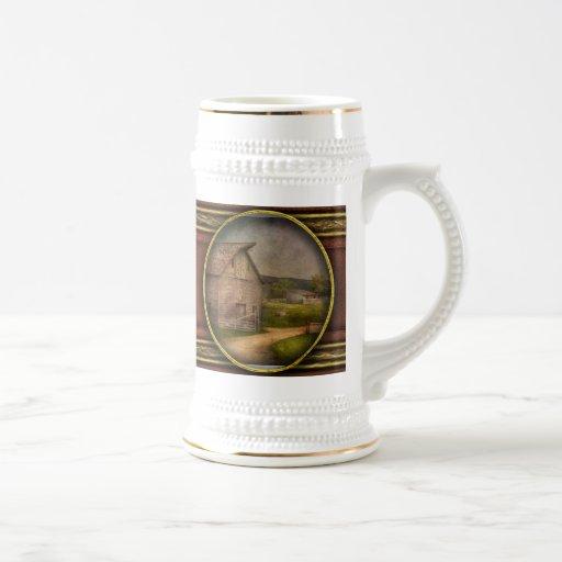 Farm - Barn - The old gray barn Coffee Mug