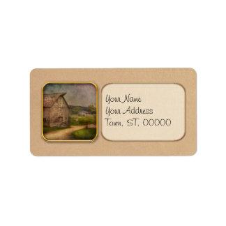 Farm - Barn - The old gray barn Personalized Address Label