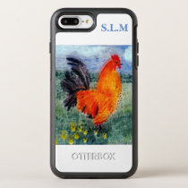 Farm Bird Rooster Chicken OtterBox Symmetry iPhone 8 Plus/7 Plus Case