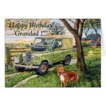 """""""FARM"""" Birthday Card For Grandad"""