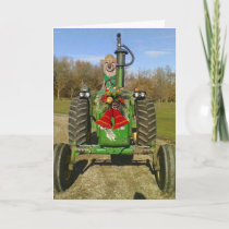 Farm Blessing Christmas Holiday Card