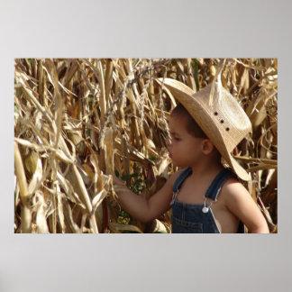 FARM BOY PSTER POSTER