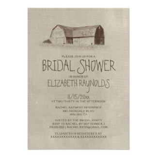Farm Bridal Shower Invitations Invitations