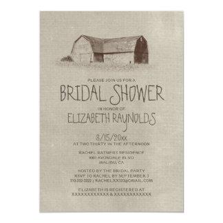 Farm Bridal Shower Invitations