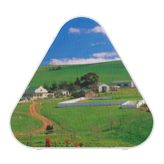 Farm Buildings And Fields, Caledon, Overberg Bluetooth Speaker