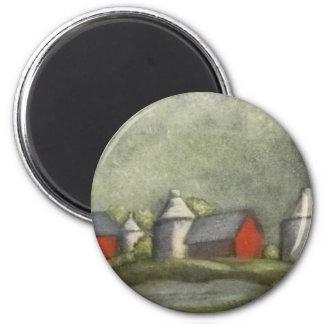 Farm Buildings And Silos Magnet