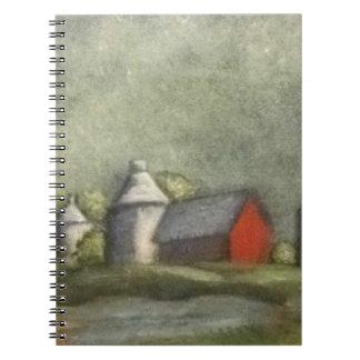 Farm Buildings And Silos Notebook