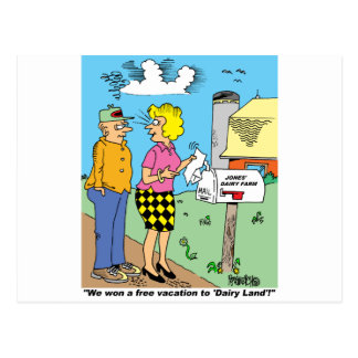FARM CARTOON GIFTWARE FOR FARMERS POSTCARD