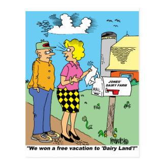 FARM CARTOON GIFTWARE FOR FARMERS POSTCARD