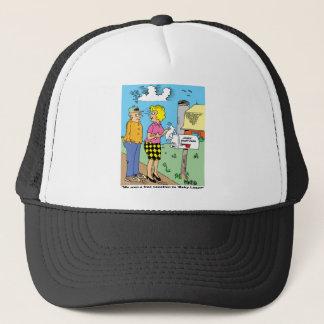 FARM CARTOON GIFTWARE FOR FARMERS TRUCKER HAT