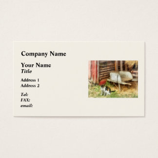 Farm Cat Business Card