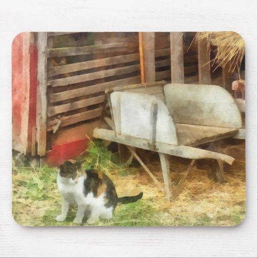 Farm Cat Mousepads