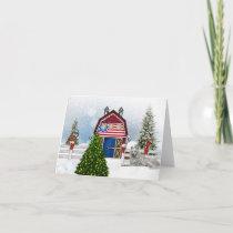 Farm Christmas Card
