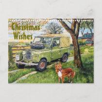 """FARM""  Christmas Postcard"