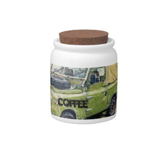"""Farm"" Coffee container Candy Jars"