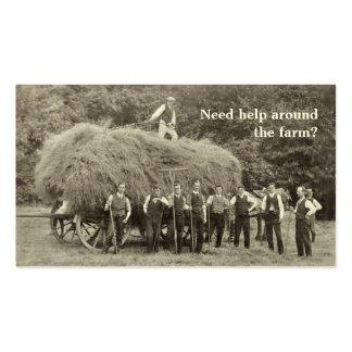 Farm Contractor business card