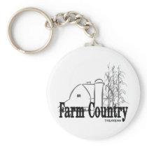 Farm Country Keychain