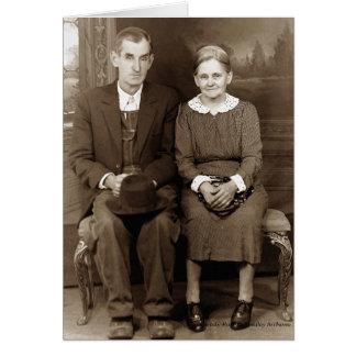 Farm Couple Card
