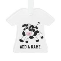 Farm Cow Ornament