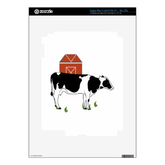 Farm Cow Decals For iPad 3