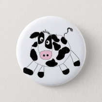 Farm Cow Tshirts and Gifts Button
