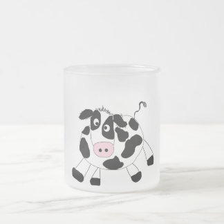 Farm Cow Tshirts and Gifts Frosted Glass Coffee Mug