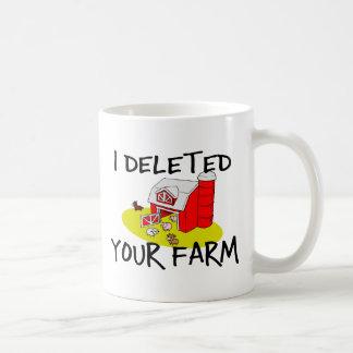 Farm Deleted Coffee Mug