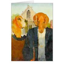 Farm Dogs Card