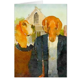 Farm Dogs Card