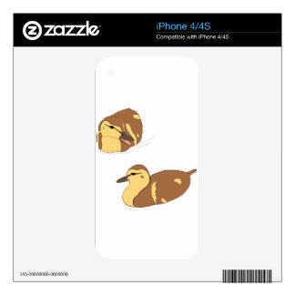 farm ducks decal for iPhone 4