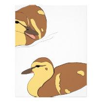 farm ducks letterhead