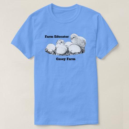 Farm Educator ver1 dark logo T_Shirt