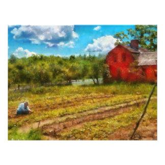 Farm - Farm Work Customized Letterhead