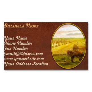 Farm - Finland - Field of hope 1899 Magnetic Business Card