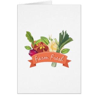 Farm Fresh Card