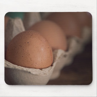 Farm Fresh Eggs Mouse Pad