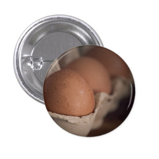 Farm Fresh Eggs Pinback Button