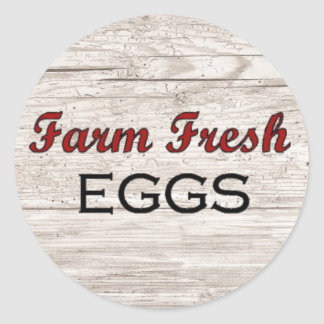 Farm Fresh Eggs Sticker
