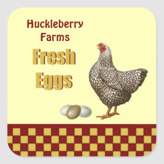 Farm Fresh Eggs Sticker