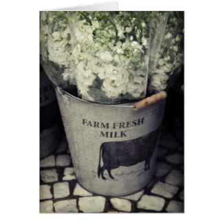 Farm Fresh Milk Card