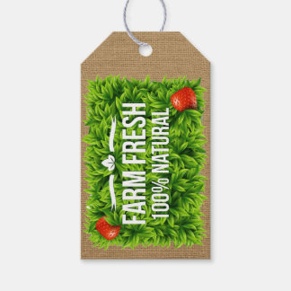 Farm Fresh or Organic Gift Tag - SRF