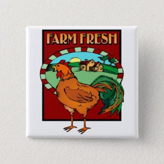 Farm Fresh Pinback Button