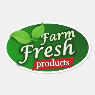 Farm Fresh Products Sticker