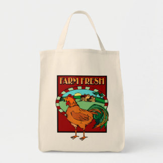 Farm Fresh Reusable Grocery Bag