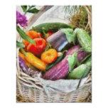 Farm - Fresh Vegetables 4.25x5.5 Paper Invitation Card