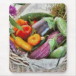 Farm - Fresh Vegetables Mouse Pad