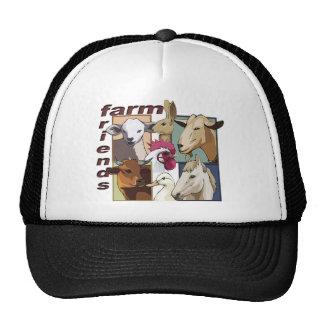 FARM FRIENDS - BARNYARD - COW / HORSE / BIRDS TRUCKER HAT