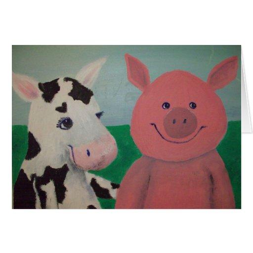 Farm Friends Card