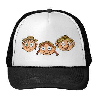 Farm Friends/Three little Elves/dwarf Trucker Hat